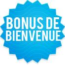 Bonus bingo bienvenue